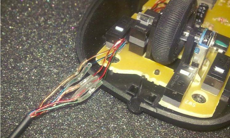 Как с беспроводной мыши сделать проводную 114