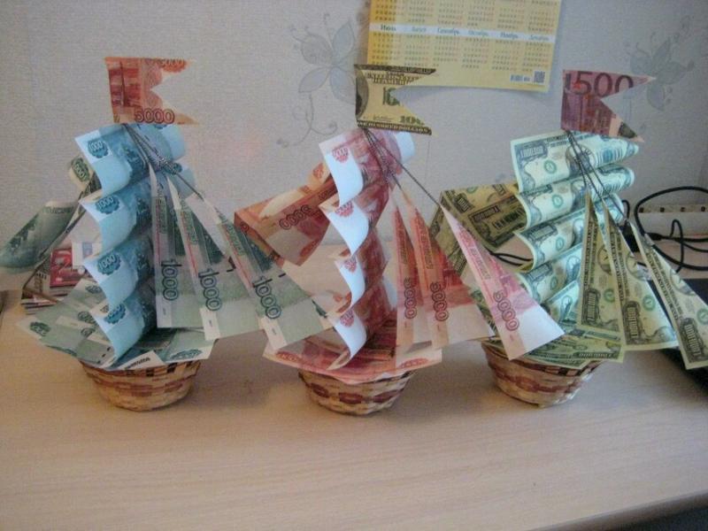 Деньги своими руками картинки