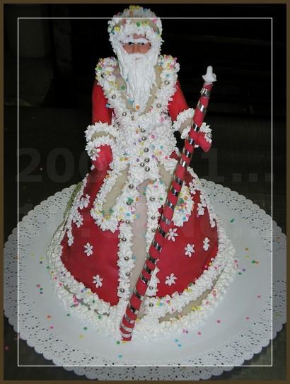Новогодний торт 2012 фото
