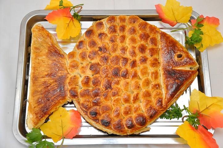 Пирог рыбный приготовления