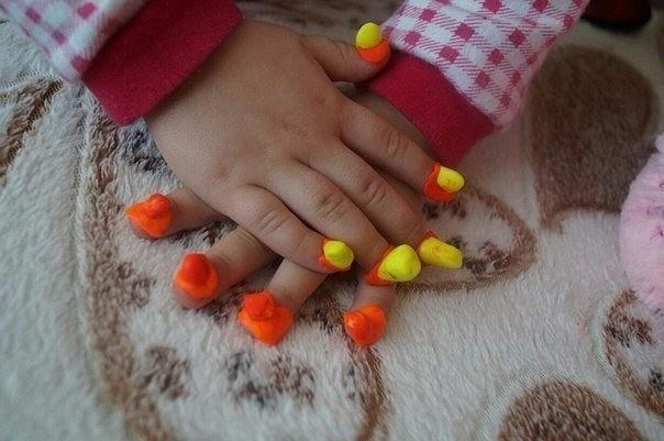 Нарощенные ногти для детей