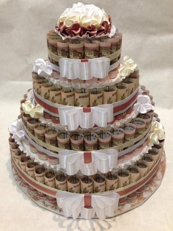 Торт из купюр своими руками мастер класс