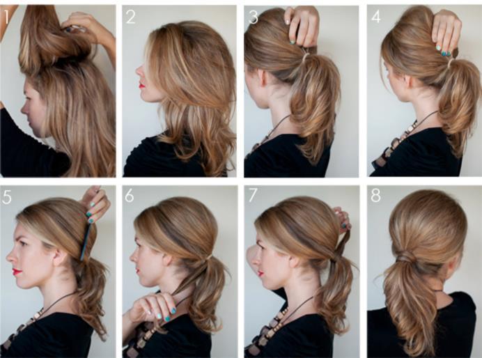 Причёски на редкие средние волосы в домашних условиях