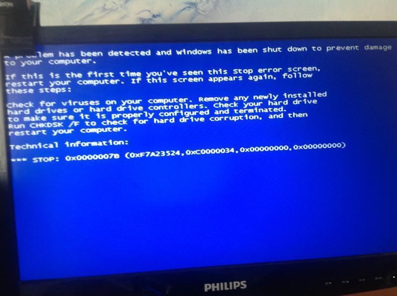 Вирус синий экран порно