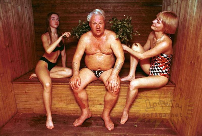 Ретро оргии в русской бане