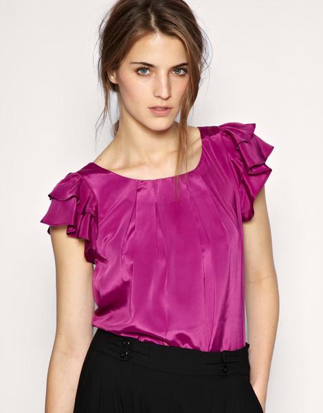 Блузки разных фасонов