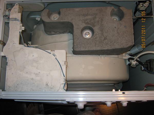 Где находится предохранитель стиральная машина lg