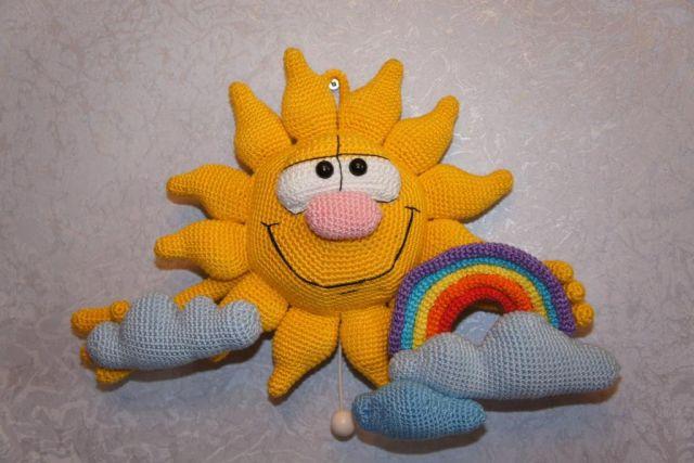 Связать солнышко схема