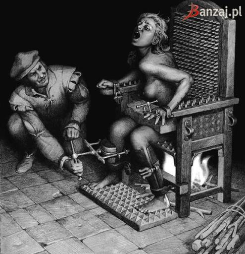 Пытка с помощью Кресла допроса высоко ценилась во времена Инкв