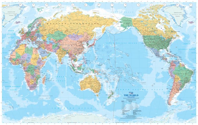 карта мир Австралия map world Australia  № 3018768 бесплатно
