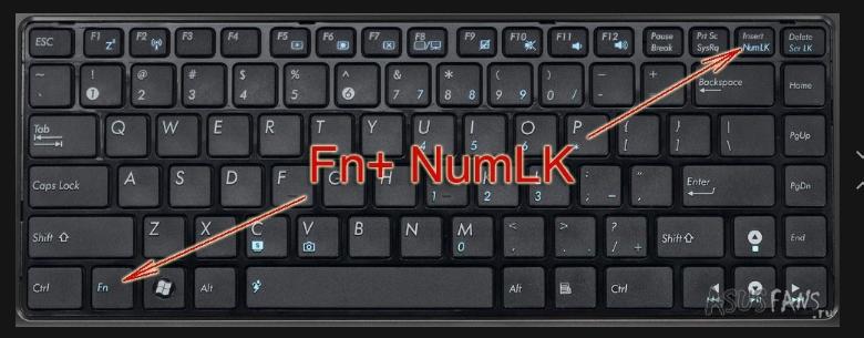 Как сделать большие буквы на компьютере