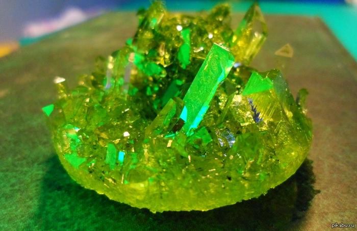 Искусственные кристаллы, природные кристаллы, выращивание (Как вырастить кристаллы соли фото)
