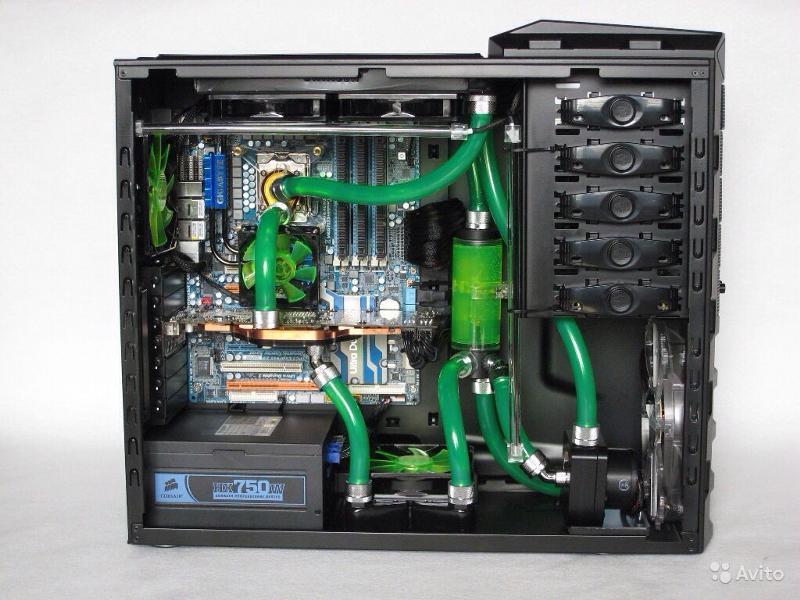Охлаждение для компьютера своими руками