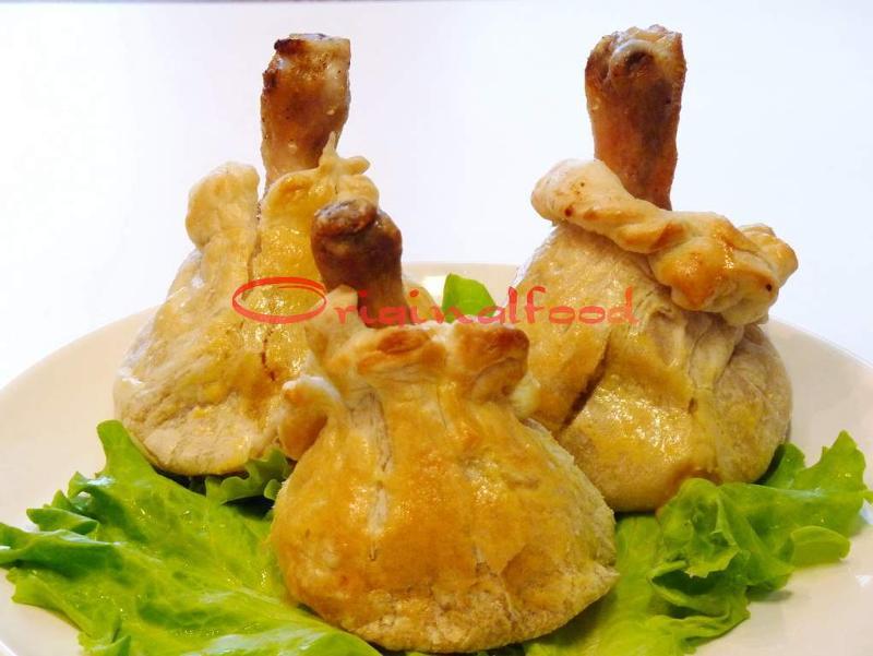 Куриная ножка мешочке рецепт с пошагово