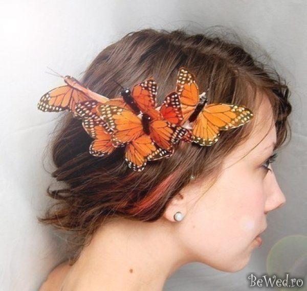 Украшение в виде бабочек своими руками