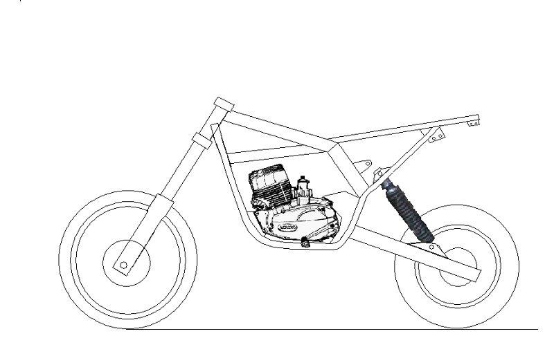 Кроссовые мотоциклы своими руками чертежи
