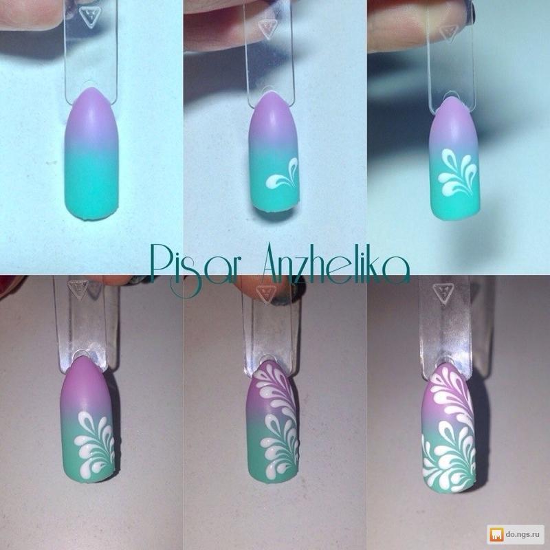 Рисунки подсолнухов на ногтях фото
