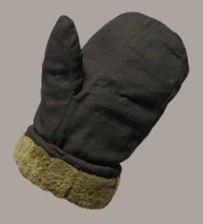 Теплые рукавицы своими руками