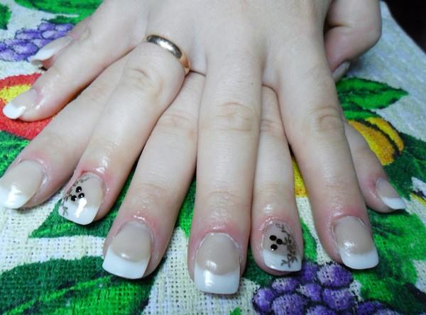 Фото нормального цвета ногтей