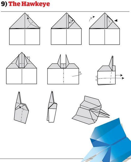 Как сделать из самолетик