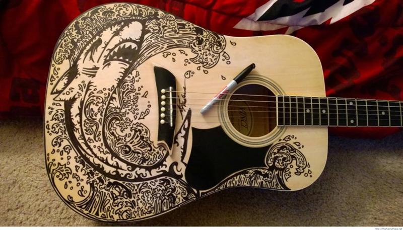 Как сделать наклейку на гитару в домашних условиях - Urbiznes.ru