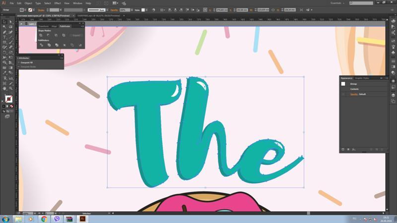 Как сделать обводку картинки в иллюстраторе