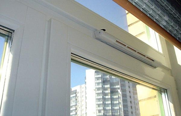 Вентиляция на пластиковые окна