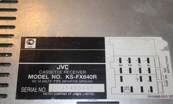 инструкция jvc ks fx640r