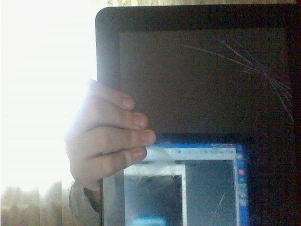Удаление царапин с экрана