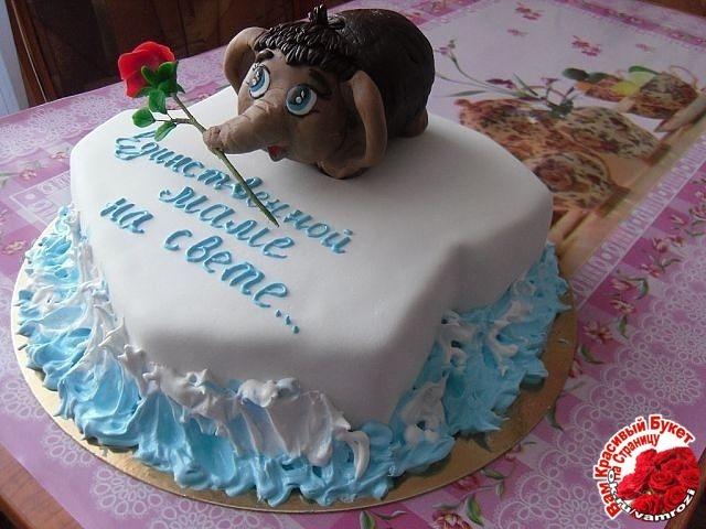 Как сделать торт маме на день рождения своими руками