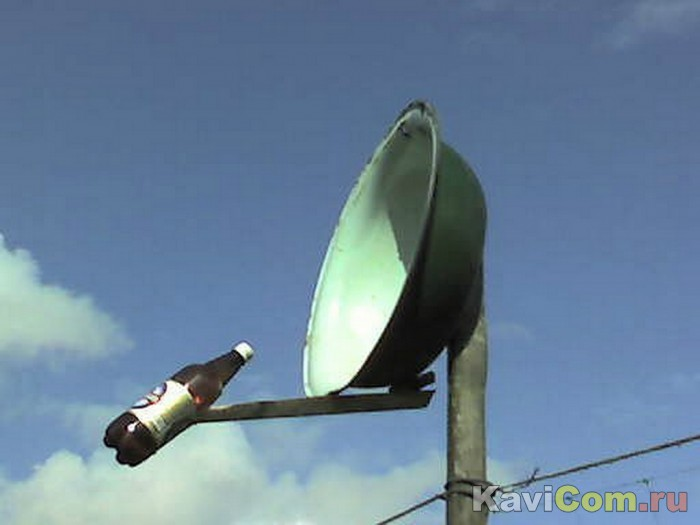 Самодельные антенны спутниковые