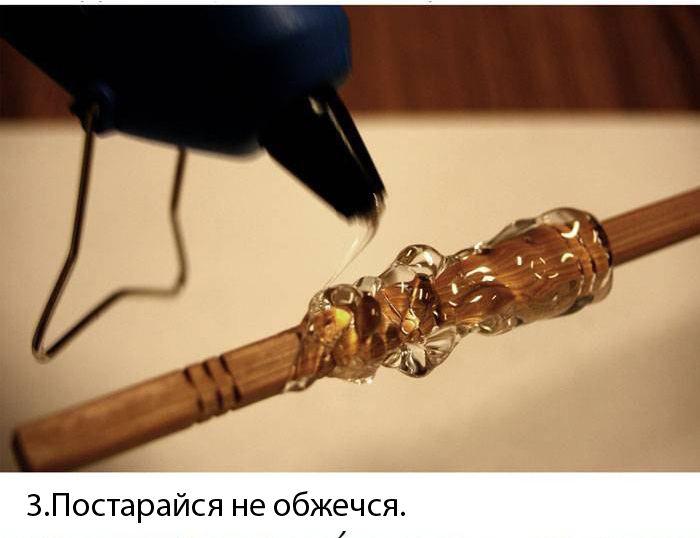 Как сделать волшебную палочку своими руками гарри поттера