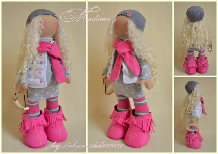Кукла своими руками для начинающих выкройки фото