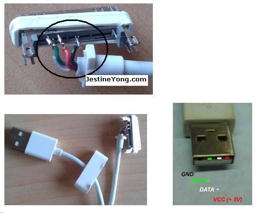 Ремонт кабеля для iphone 4 своими руками