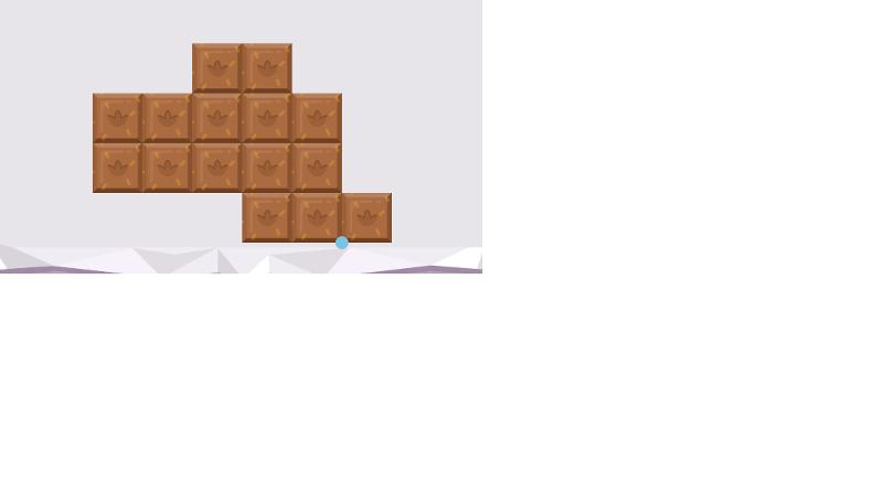 как поделить шоколадку с остатком видео