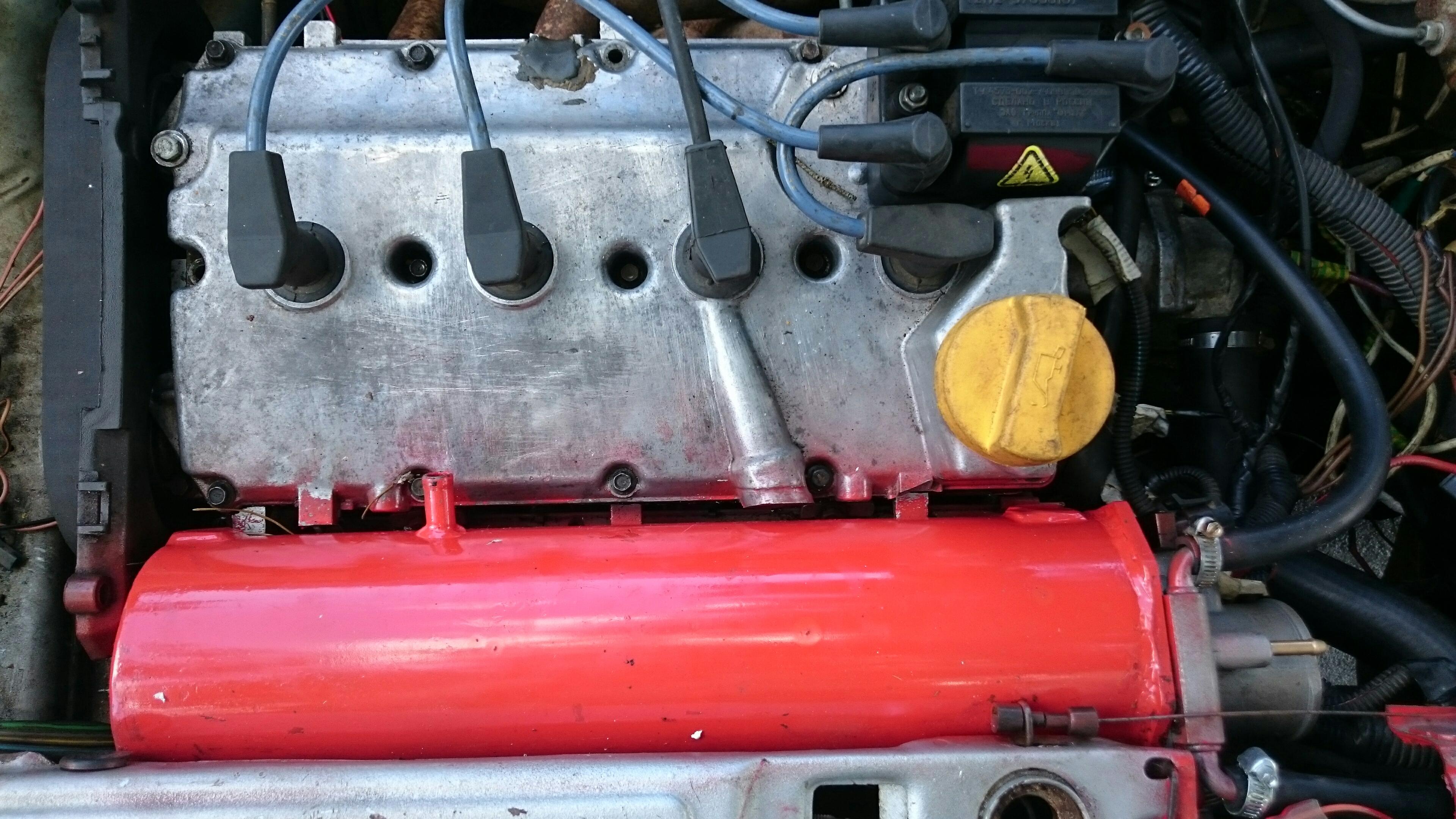 Ресивер на 16 клапанный двигатель