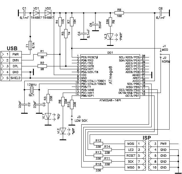 внутрисхемный программатор
