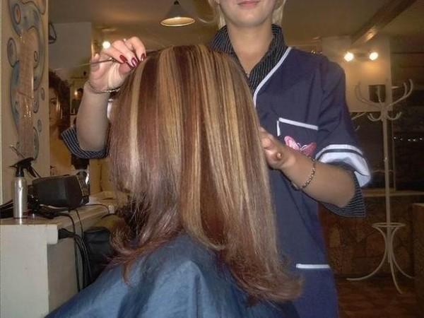 Колорирование волосы фото в домашних условиях 454