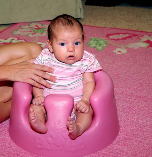 Со скольки месяцев можно сажать малыша 92