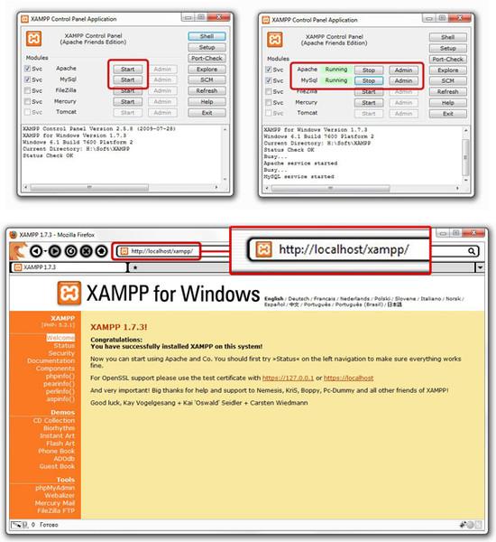 Cara menginstall cms wordpress di xampp