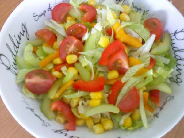 Салаты овощные к шашлыку рецепты с простые и вкусные