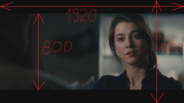 Как сделать чёрные полосы в видео сверху и снизу