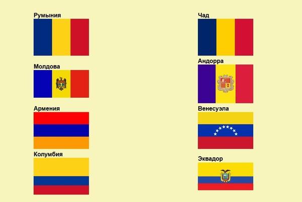 Почему флаги россии франции сша