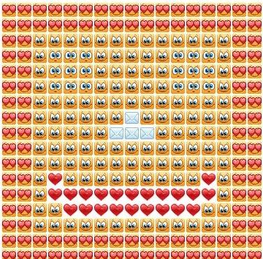 Как сделать сердечко на одноклассниках 97