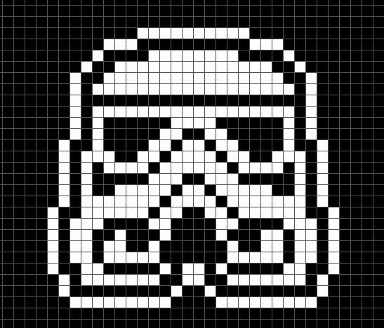 Star wars схема вязания 64