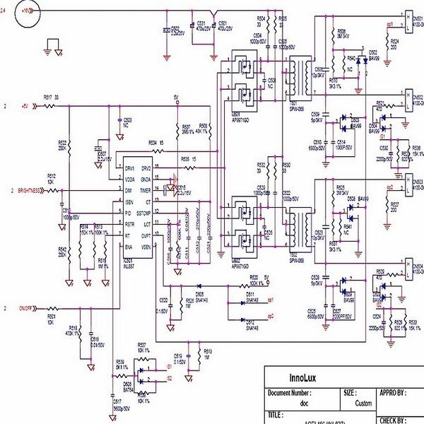 Как прозвонить схему монитора