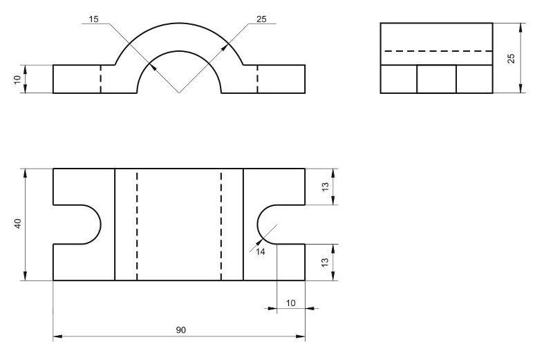 Как сделать простейший чертеж 371