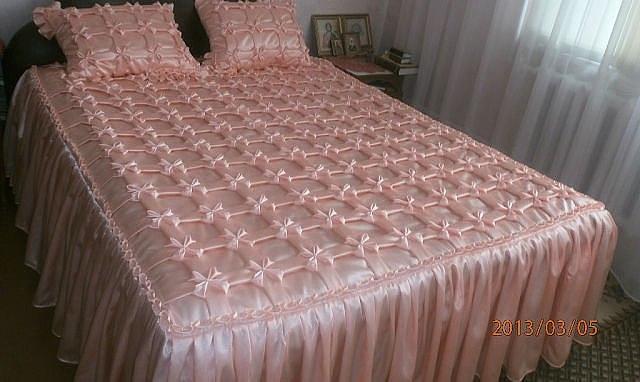 Как рассчитать количество ткани на покрывало