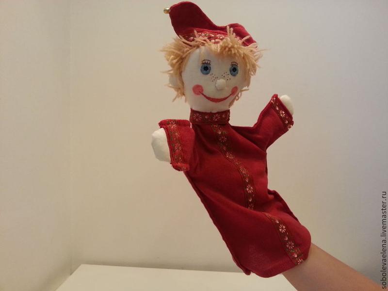 Кукла надеваемая на руку своими руками