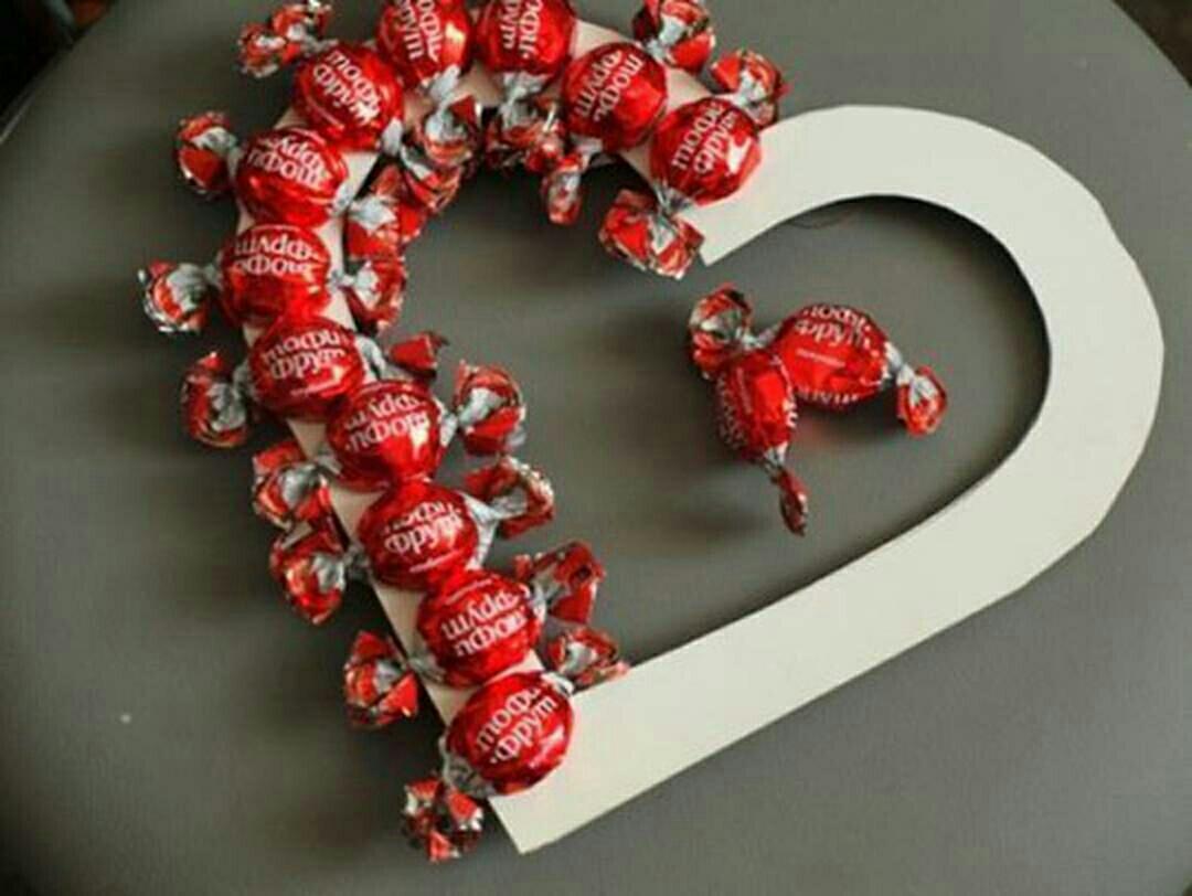 Подарки своими руками на день святого валентина любимой девушке